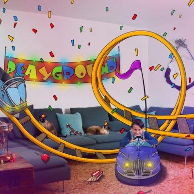 Une fête foraine dans mon salon!