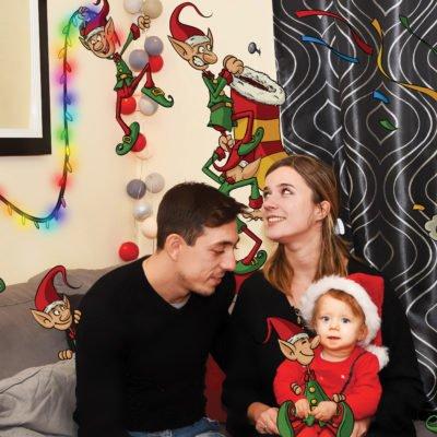 Des lutins dans le salon... Noël approche!