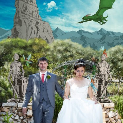 François et Aurore et leur conte de fée